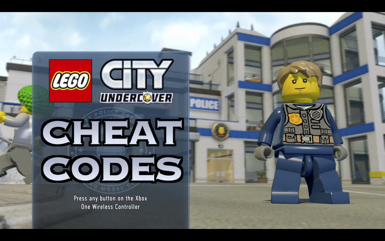 Lego City Undercover Cheat Codes Everyday Gaming Society